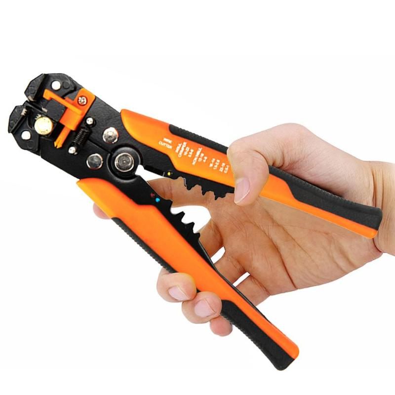 Automatic Wire Cable Lead Stripper Stripping Cutter Crimper Crimping Hand Tools
