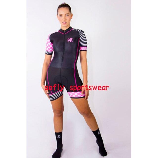 2020 kafitt conjuntos de roupas femininas ciclismo triathlon terno manga curta skinsuit conjuntos maillot ropa maillot macacão 3