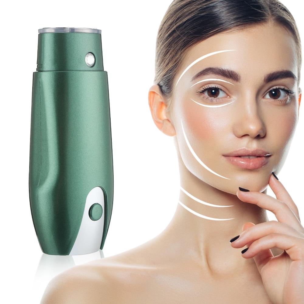 Mini ultrasonic cavitation body slimming machine Lifting Facial ultrasound face lift tool Rejuvenation Anti Aging Beauty Skin