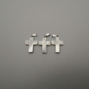 Image 4 - wholesale fashion Cross Natural shell Pendants for jewelry making charm diy necklace accessories 36pcs/lot