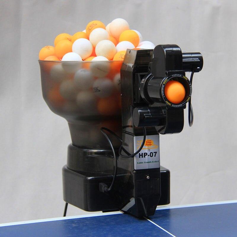 36 tours Machine à balles de Ping-Pong avec Machine de Tennis de Table automatique pour l'entraînement