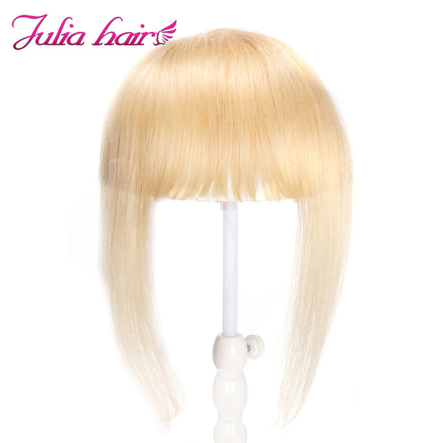 Ali Julia Air Bangs For Women Clip In Hair Extensions Brazilian Human Hair Bangs Remy Replacement Fringe Hairpiece (12)