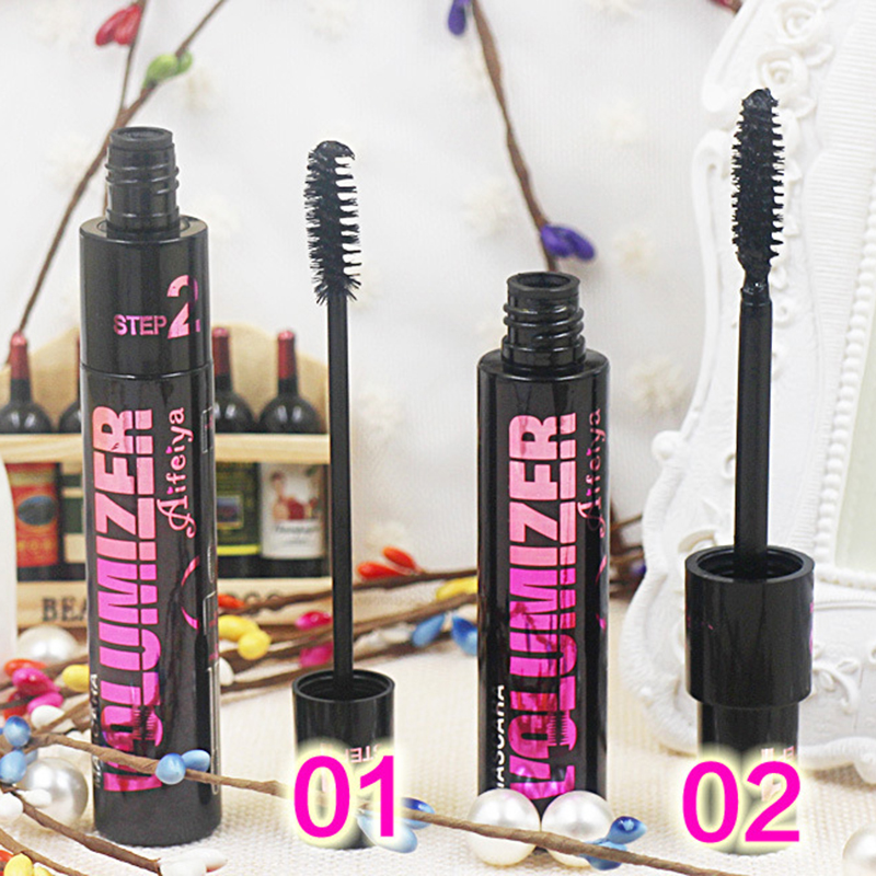 Brand Mascara 4D Big Eyes Charm Mascara Volume Fiber Lashes With Collagen Cosmetic Extension Quick Dry Waterproof Lengthening