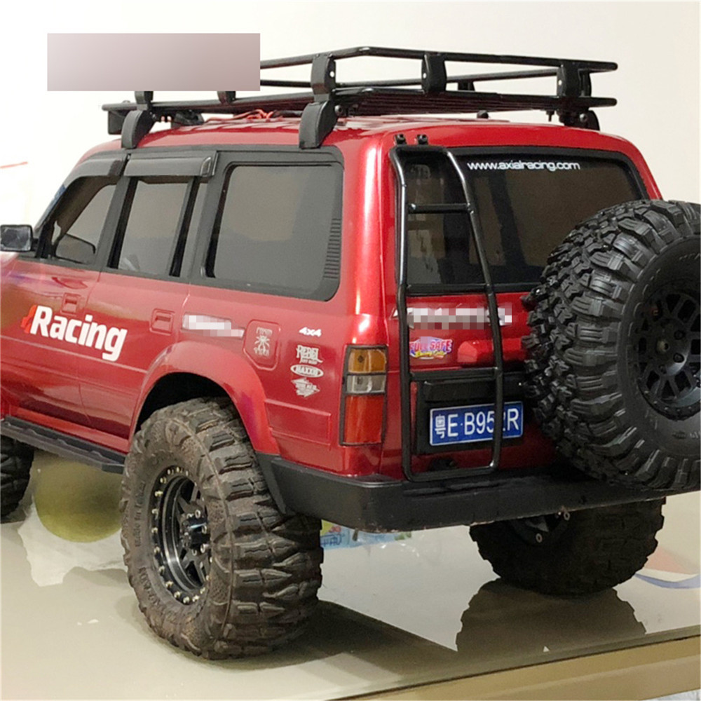 RC Car Body Shell Metal Ladder Stepladder For 1/10 LC80 TRX4 SCX10II 90046 JEEP RC Rock Crawler Car Parts Accessories