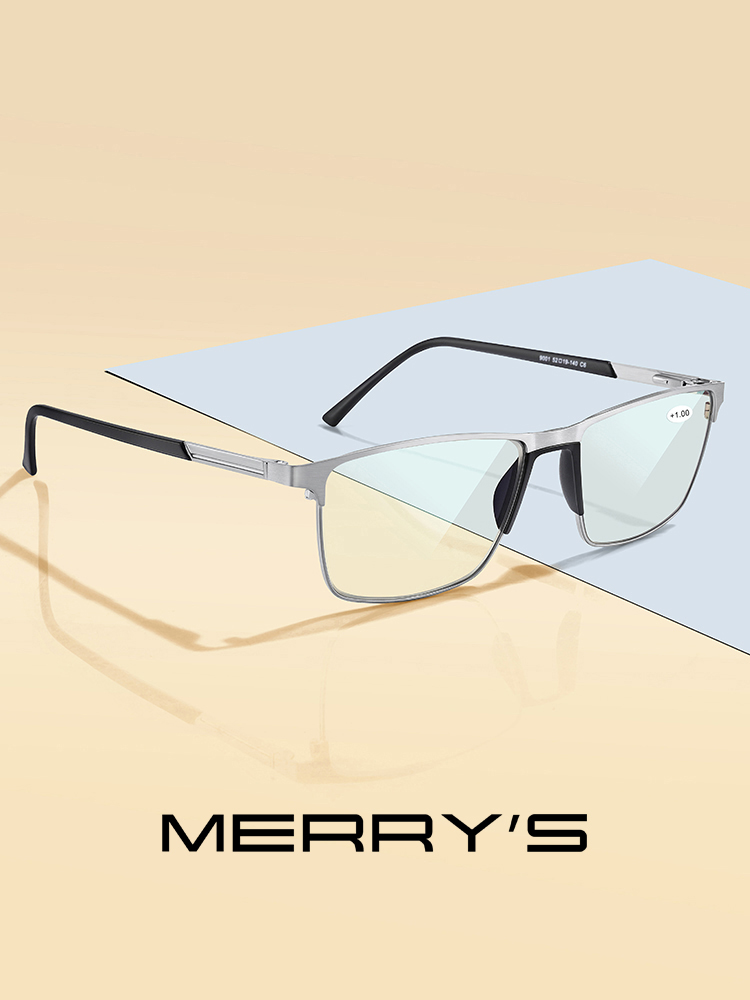 Lenses Glasses Light-Blocking Merrys-Design Anti-Blue Resin CR-39 Men S2001FLH Aspheric