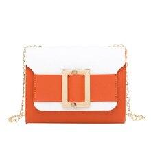 цены Bags For Women 2019 New Fashion Shoulder Bag Korean Messenger Cell Phone Bag Small Square Package Chain Crossbody Bags
