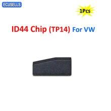 ID44 Chip Transponder węgla klucz samochodowy Chip ID 44 Chip wykorzystanie dla wersji zagranicznej (TP14) dla volkswagena dla V-W