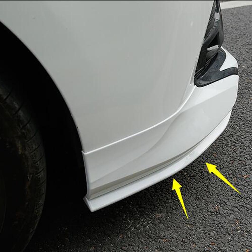 For Toyota Camry 2019 XV70 Accessories Front Corner Protector Front Bumper Anti-collision And Anti-rubbing Strip Modification