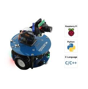 Inteligentny Robot wideo AlphaBot2 zasilany przez Raspberry Pi 4 8G
