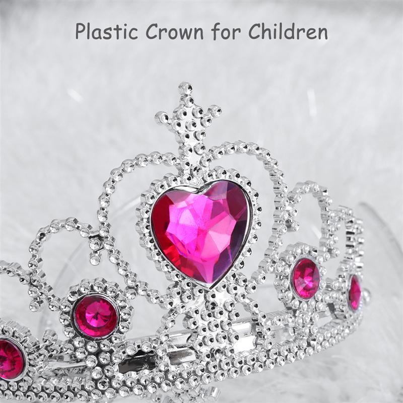 5PCS TOYMYTOY Princess Crown Tiara Dress up Headwear Headdress for Kids Children