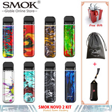 New Smok Novo 2 Starter Kit vape pen kit 2ml capacity pod Electronic Cigarette with 800mAh built-in battery VS SMOK Novo & Nord original smok novo 2 pod vape kit smok novo kit cobra covered vape pen kit 450mah battery 2ml capacity pod system kit to vape