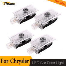 For chrysler led door light lamp Projector Courtesy welcome lights Ghost Shadow car logo for Chrysler 200 300 Sebring lighting jurus 12v led door courtesy light with car logo for chrysler for ssangyong for abarth lamp laser projector ghost shadow welcome