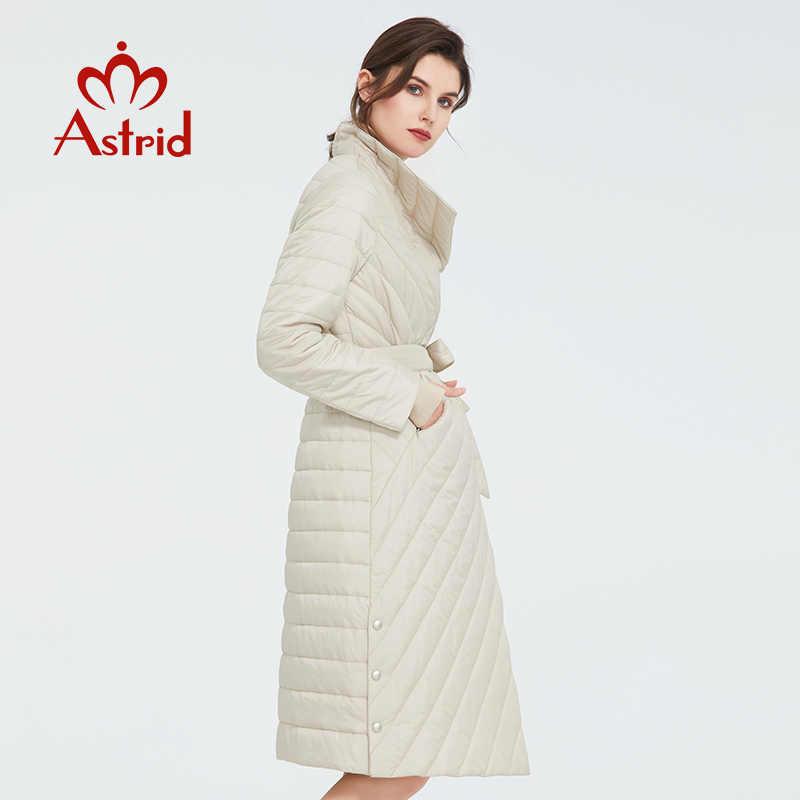 Astrid 2020 nova chegada primavera estilo clássico comprimento casaco feminino quente jaqueta de algodão moda parka alta qualidade outwear ZM-7091