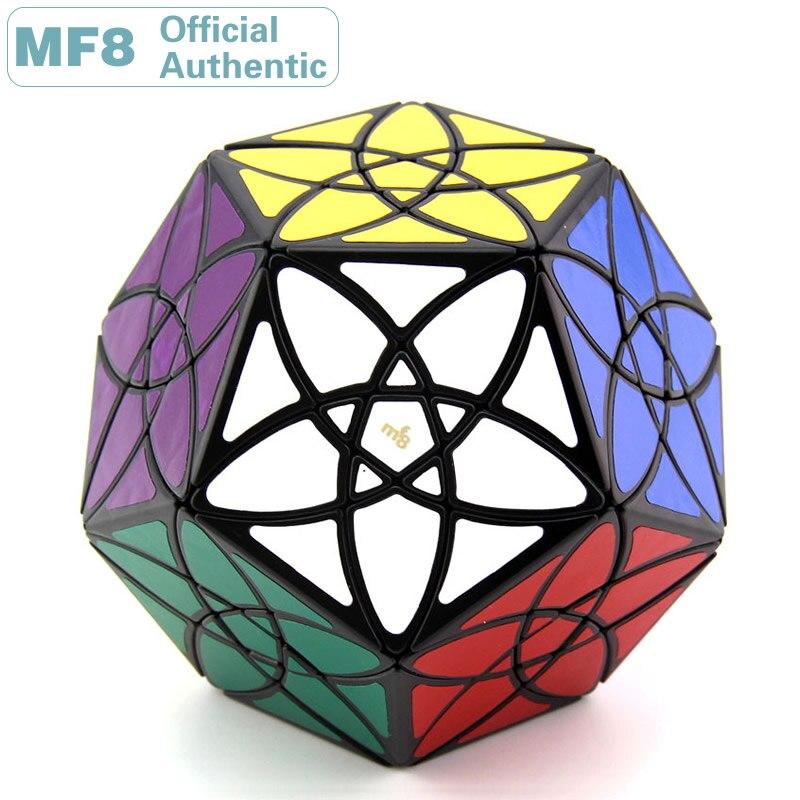 MF8 Bauhinia Megaminxeds Cube magique 3x3 Dodecahedron Starminx incliné professionnel vitesse Puzzle jouets éducatifs pour enfants