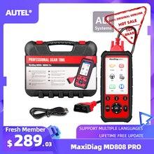 Autel MaxiDiag MD808 Pro OBD2 Scanner Outil De Diagnostic Auto Scanner Tous Les Système Eobd Automotivo Automotriz Automobile Voiture Scanner