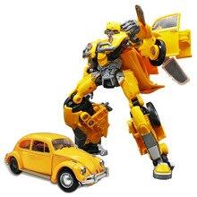 Bmb transformação robô bumblebee filme anime ko ss18 figura modelo deformável op comandante plástico toyrobot h6001 H6001-3