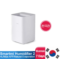 Smartmi Evaporation Air Humidifier 4L Large Capacity Antibacterial Smart Screen Display For Mi Home APP Control
