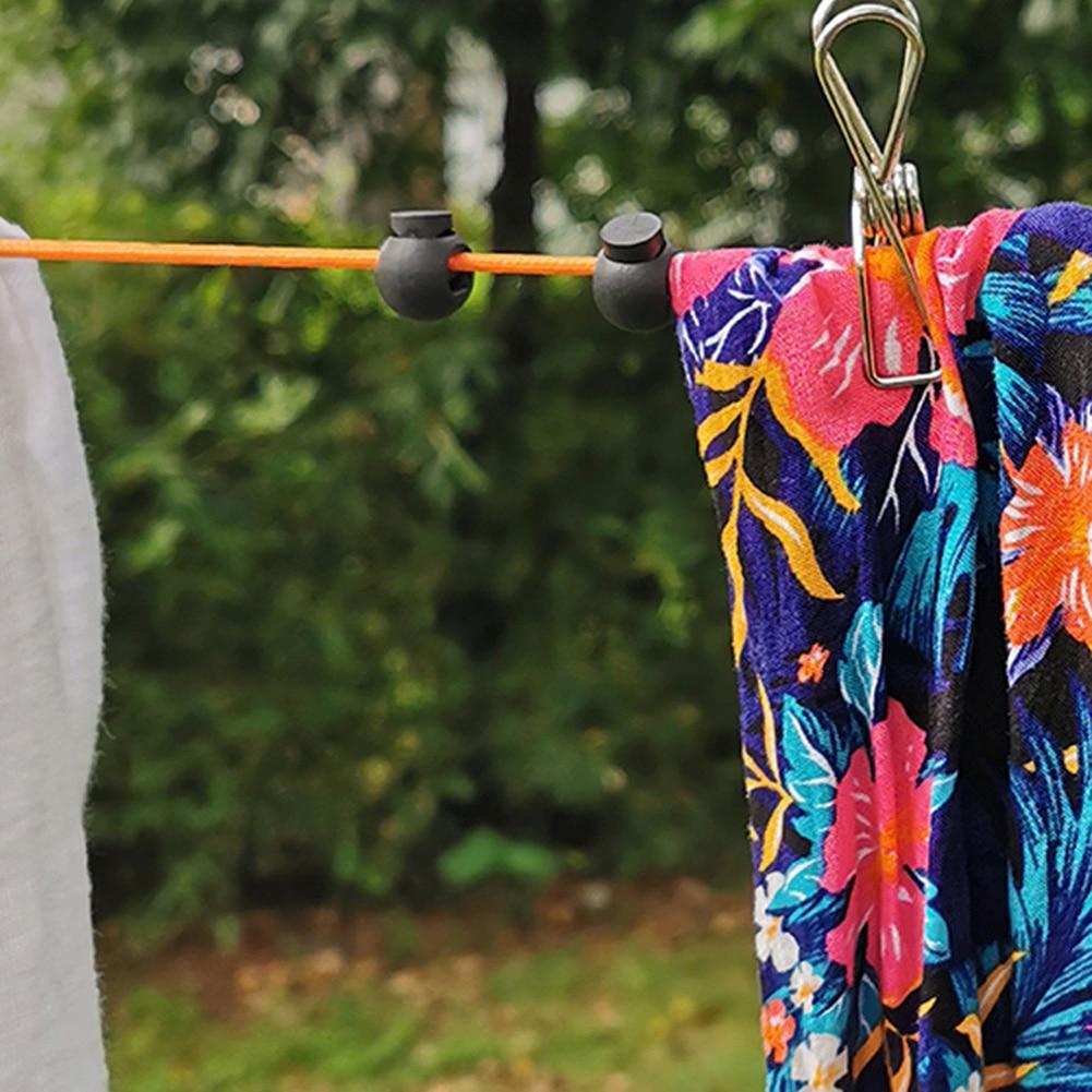 Выдвижной веревка для белья С Хранением Чехол Ветрозащитный Переработка кассета Сушка Одежда Вешалка Веревка Высокий Прочность Одежда Леска