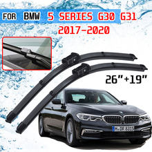 Para BMW Série 5 G30 G31 2017 ~ 2020 520i 523i 528i 530i 535i 550i M5 518d 520d 525d 530d 535d M550d xDrive Lâminas Do Limpador Do Carro