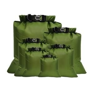 5 uds bolsa seca impermeable Pack saco decathlon natación Rafting Kayaking río Trekking flotante navegando jongalas вивин④ resistencia al agua