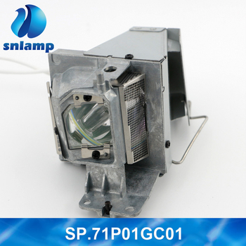 Original W-Housing SP.71P01GC01 BL-FU195C/SP.72J02GC01 UHP 190/160W 0.9 E20.9 Projector Lamp/Bulbs For Optoma Projectors