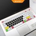 Silikon Laptop Notebook Tastatur Abdeckung Aufkleber für ASUS VivoBook 15 Asus x509 X509F X509FA X509FJ X509FB X509FL X509 FL FB FJ