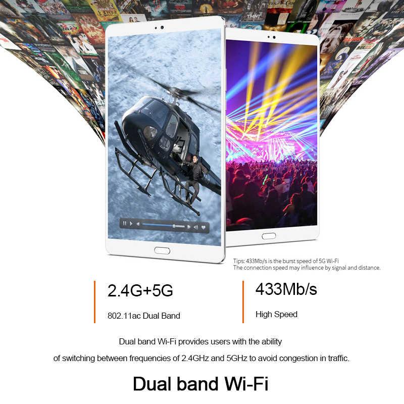 تابلت تكلاست T8 2560x1600 أندرويد 8.4 بوصة تابلت 4GB RAM 64GB ROM نتبووك بصمة التعرف MTK8176 13.0MP