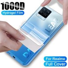 Zurück Hydrogel Film Für OPPO Realme 8 7 Pro GT Neo Screen Protector X2 X50 X7 6 5 Pro C3 c11 C12 C15 V5 Schutz Film Nicht-Glas Accessories