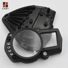 цена на ZXMT Speedometer Speedo Meter Gauge Tachometer Instrument Case Cove for Suzuki GSXR1000 2007-2008 K7 07 Instrument Housing Case