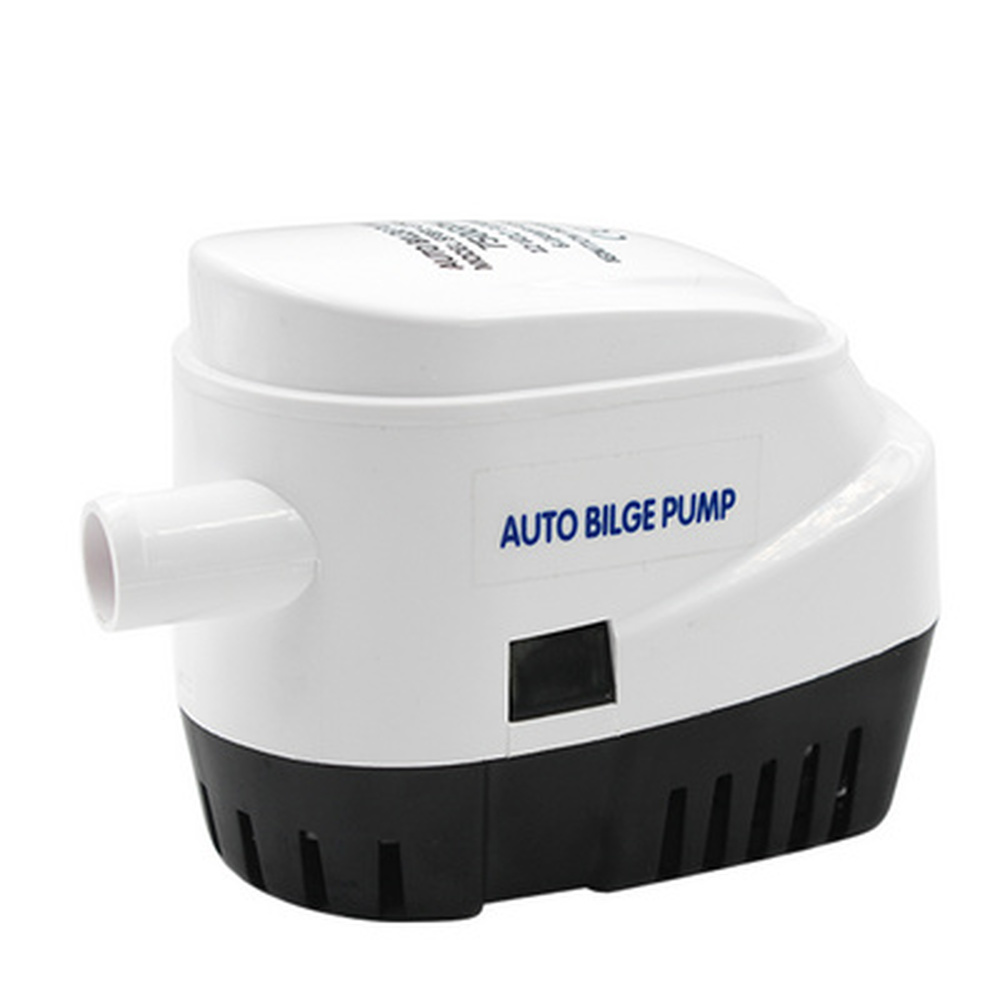 (FREE SHIPPING)750gph 1100gph Automatic Boat Bilge Pump 12v 24v Auto Dc Submersible Electric Water Pump Small 12 V Volt image
