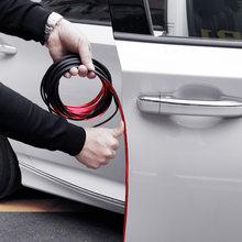 Bande de protection anti-rayures pour bord de porte de voiture, autocollants pour skoda rapid octavia A2 A4 A5 A7 karoq fabia kodiaql tesla modèle 3