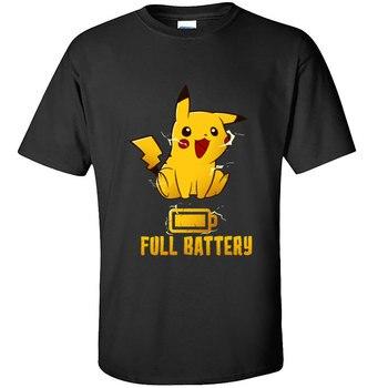 T-shirt Kawaii Pokémon Pikachu Full Battery