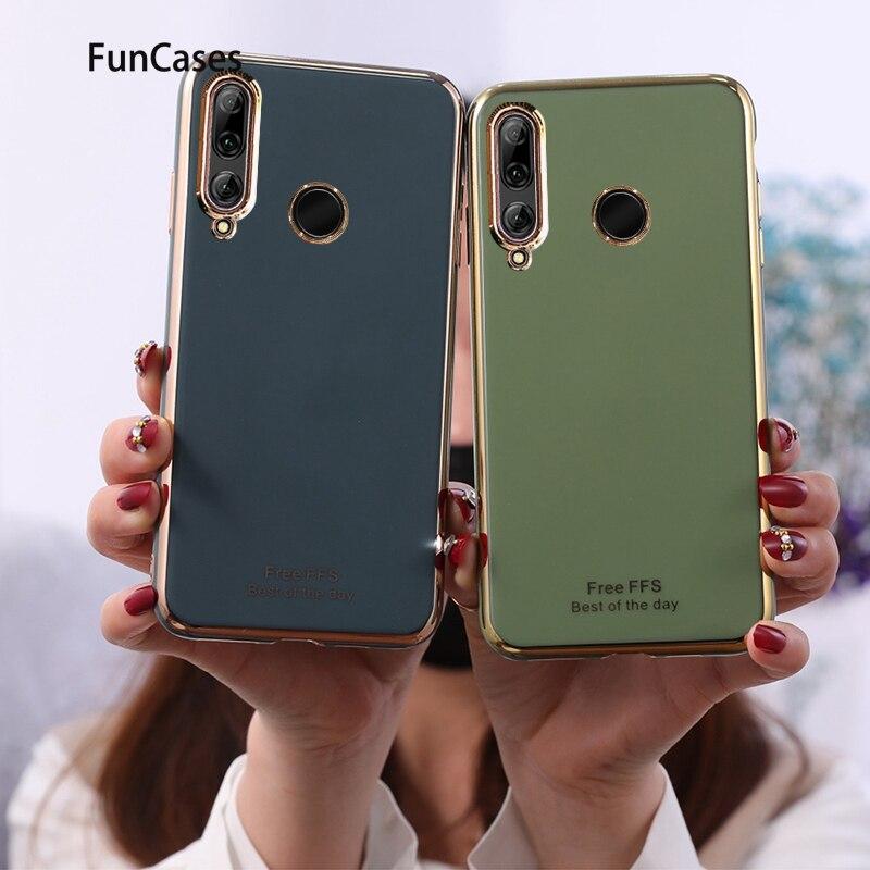 New Soft TPU Cover For phone case Huawei P30 Lite Plain Fundas sFor Estuche Huawei capinha Nova 4E Smart Phone Covers Hawaii(China)