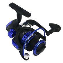 цена на Folding Spinning Fishing Reels Wheel Spinning Reel Pardew Lure Wheel Vessel Bait Casting Flying Fishing Trolling