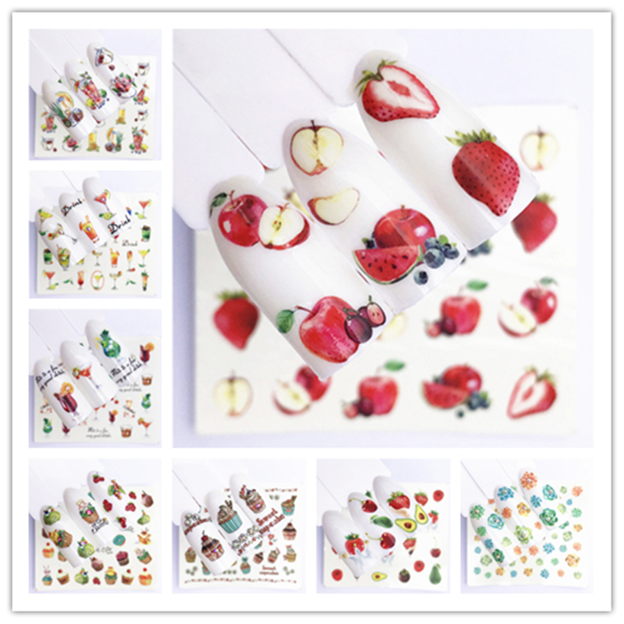 1PCS Fruit Christmas Flowers Nail Art Nail Rhinestone Small Irregular Beads Manicure 3D Nail Art Decoration In Wheel Accessories
