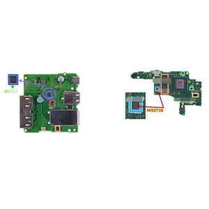 Image 3 - IC Chip motherboard Image power for N S for Switch Battery Charging Chip M92T17 M92T36 BQ24193 PI3USB Audio Video Control IC