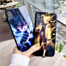 Sasuke Light Up Phone Case For Iphone 11 PRO X XS MAX 6 7 8 Plus