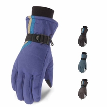 Full Finger Thick Touch Screen Skiing Gloves Water Resistant Thermal Handwear Outdoor Winter Climbing Cycling Accessories цена