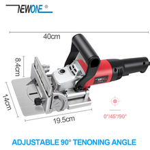 Joiner Biscuit-Plate Woodworking And NEWONE for All-Wood Types DIY 220V Angle 730W Dust-Bag-Suitable