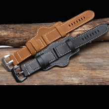 Fashion Sport Watchband High Quality Genuine Leather Watch Strap Band for Panerai Strap for PAM111 Watch Accessories Wristband все цены