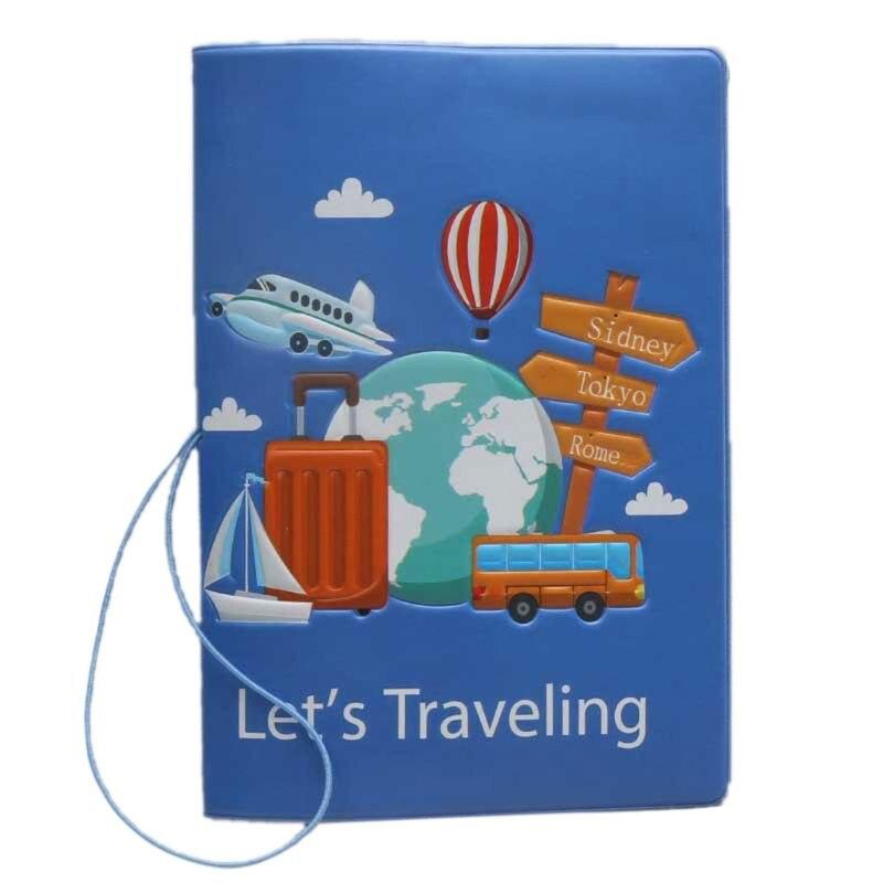 Fashion Travel Passport ID Card Cover Holder Case Protector Organizer