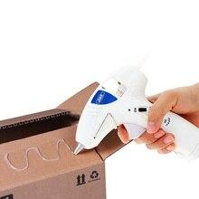 10 Вт термоплавкий клеевой пистолет беспроводной термоплавкий клеевой инструмент промышленный Мини Портативный термо Электрический термотемпературный инструмент