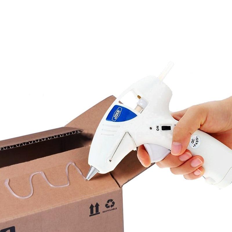 10W Hot Melt Glue Gun Cordless Hot Melting Glue Tool Industrial Mini Portable  Heat Temperature Tool