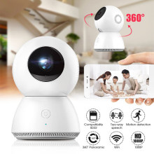 MiJia Baby Monitor 1080P Casa de 360 Graus Panorâmica IP WiFi Câmera Motion Detection Night Vision Magic 4X Zoom CCTV(China)