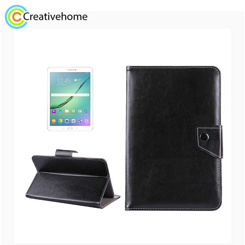 10 inch Tablets Leather Protective Case Shell with Holder for Asus ZenPad 10 Z300C, Huawei MediaPad M2 10.0-A01W, Cube IWORK10 image