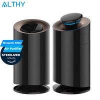 ALTHY mini air purifier + Mosquito Killer + UVC Sterilizer Disinfection UV Ultraviolet light Disinfection Ozone Generator