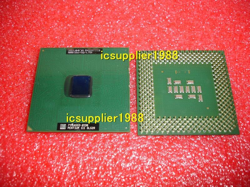 Pentium III 1000 P3 1G 1000/256/133/1.75V Socket 370 CPU SL52R 1GH 370PIN