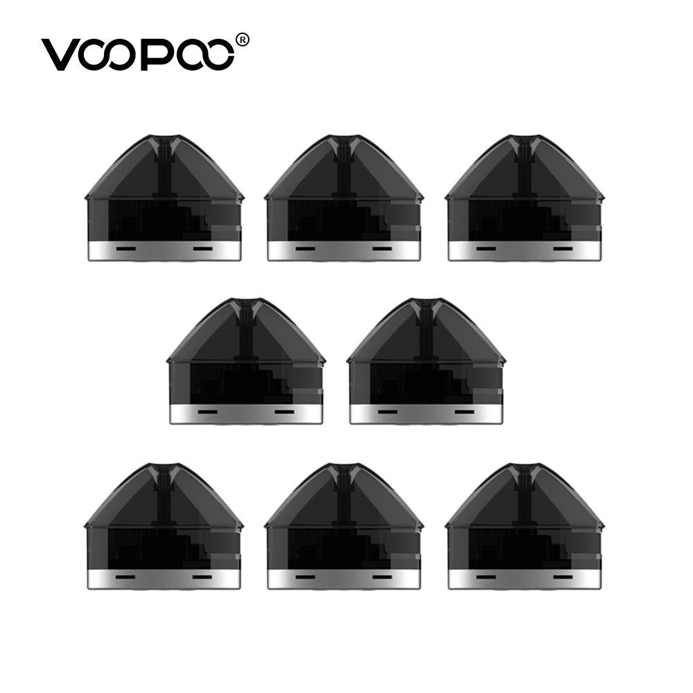 Original VOOPOO FINIC FISH Pod Cartridge 1.7ml Capacity 1.6ohm Resistance Pod Cartridges Replacement Electronic Cigarette E-Cigs