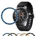 Чехол gear S3 для samsung Galaxy Watch 46 мм 42 мм  чехол из сплава с кольцом  клейкая крышка  защита от царапин  аксессуары для умных часов