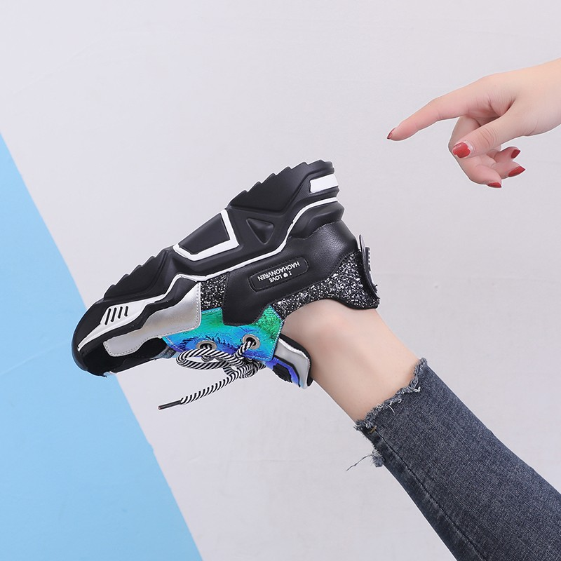 Mesh Style Transformer Sneakers 9